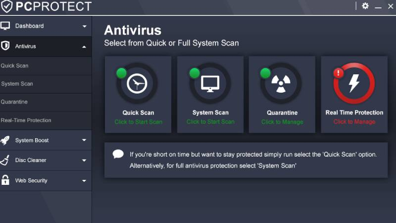 Antivirus Gratuito PC Protect